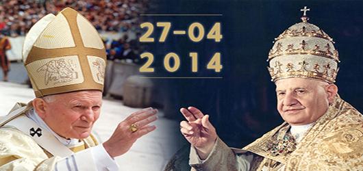 CANONIZZAZIONE DEI BEATI GIOVANNI XXIII E GIOVANNI PAOLO II